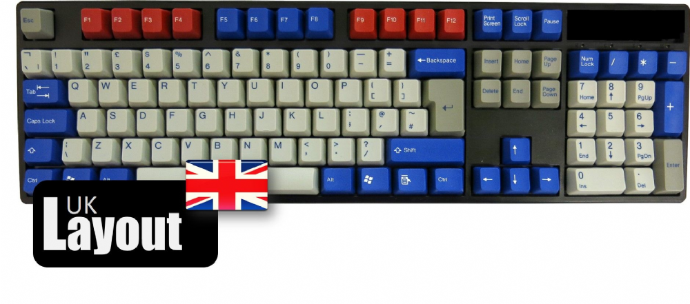 Tai-Hao ABS Double Shot Keycaps Optimus Prime UK